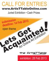 Call for Entries - Lets Get Acquainted! by Anipo