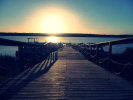 Jetty Sunshine by tugalot