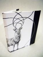 Book 4, sika deer, front cover by remanere