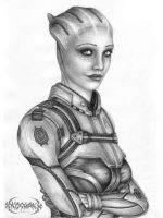 Liara T'Sony by KoshaKN7