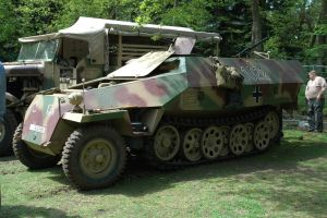 SdKfz 251 D German Halftrack by BlokkStox