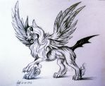 Mega Absol Design by Lucky978
