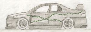 Vine Car... Unfinished by Lord-Malachi