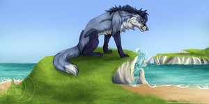 The song of the sea - Art trade by ShadeDreams