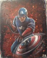 Captain America by Sandy-reaper