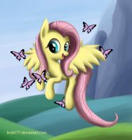 Fluttershy by brab777