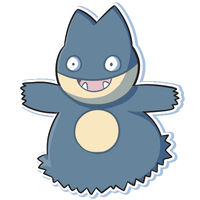 Munchlax by pixel-butts