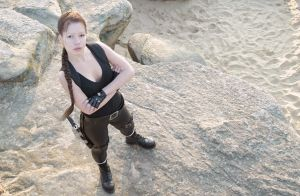 Tomb Raider cosplay by Gynger07