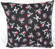 Pirate Pillow by quiltoni