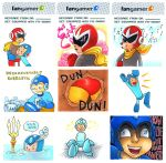 Megaman Slip Highlights! by lauramw