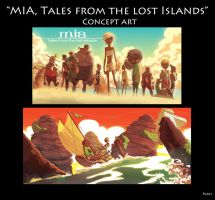 Mia Tales from The Lost Islands Concept Art 1 by NunoPlati