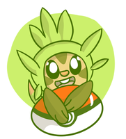 Chespin by FunSizeMini