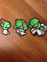 Ralts, Kirlia, and Gardevoir (Gen 5-) by StumpChump