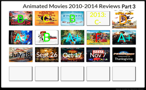 Animated Movies 2010-2014 Reviews Part 3 by 1nickhotelfan