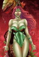 POISON IVY by Leonardo colored ver2 by Dany-Morales