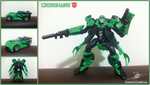 Crosshairs Transformers AOE by The-Butcher-X