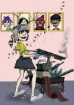 Noodle and gun by Bliss-23