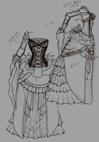 Fantasy Wedding Dress OMG by Scyhnlledwyrh