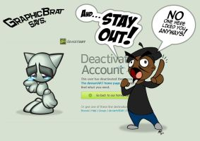 A message to those who wish to leave deviantART... by GraphicBrat