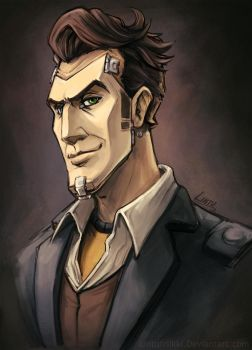 Handsome Jack by Lintufriikki