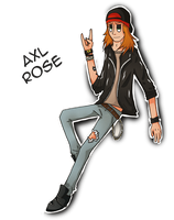 A - Z: Axl Rose by re-flamed