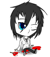 Chibi Jeff The Killer by Laxianne