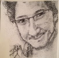 Markiplier Stippling Drawing by Idontgethatreference