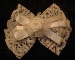 White Lace Bow by racehorse87-stock