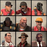 [SFM] TF2 Avatars Class by TheYoshiPunch