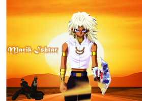 Marik Ishtar desert wallpaper by meena1994