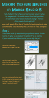 Making Manga Studio 5 Texture Brushes by rainbow010101