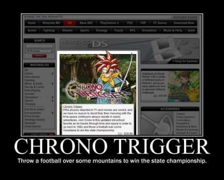 Chrono Trigger Motivator by Jameika314