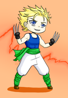 Chibi Project: 6 - Sabin by cocosnowlo
