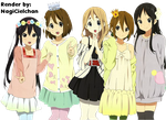 K-On render by NagiCielchan