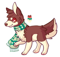Border Collie Adopt(CLOSED) by HobbaGobwin