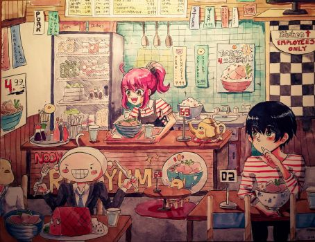 Noona's Ramyum Shop by Pyoki