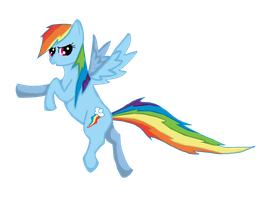 Rainbow Dash by loz-boz01