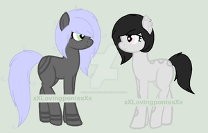 Restless and Rested Pony Adopts :OPEN: by xXLovingponiesXx