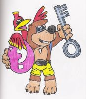 Banjo-Kazooie by thereisnoend01