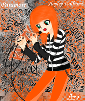 Paramore-Hayley Williams :D by Xxx0Amy0xxX