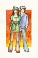 Harry and Ginny by The-Starhorse