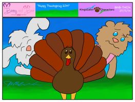 BnB - Happy Thanksgiving 2014 by JWthaMajestic