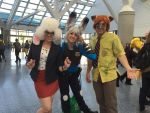 WonderCon 2016: Judy, Nick, and Dawn Bellwether by CinemaBrony