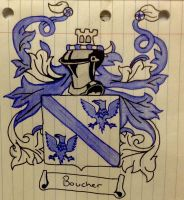 The Boucher Family Crest by JacobTheTorched