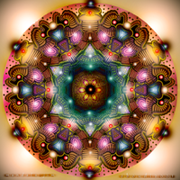 Mandala 11 - Collaboration by Mandala-Jim