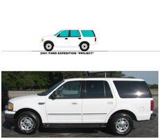 2001 Ford Expedition Project By Misterpsychopath30 by mcspyder1