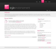 Style Endorsement - Website v4 by weyforth