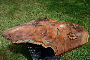 Large Mesquite tray in sun by lamorth-the-seeker