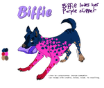 Biffie (open) by SammyBlot