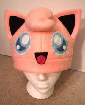 Jigglypuff hat by Red-Flare